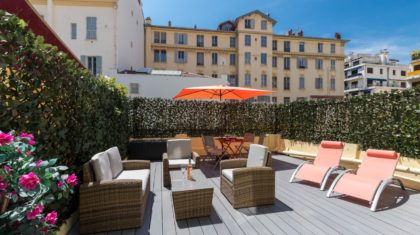 holiday rental with terrace in Nice | ZEN Holiday Rentals