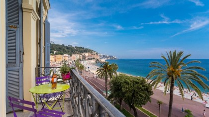 seaview holiday apartment in Nice - ZEN Holiday Rentals