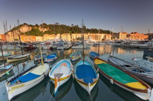 fishermens boats sunsetHoliday Lettings in Nice Port - ZEN Holiday Rentals