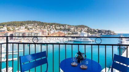 Seaview holiday letting in Nice Port | ZEN Holiday Rentals